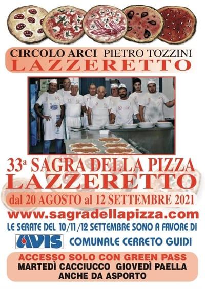 Sagra della Pizza Lazzeretto 2021