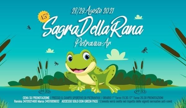 Sagra della Rana 2021 Pietraviva