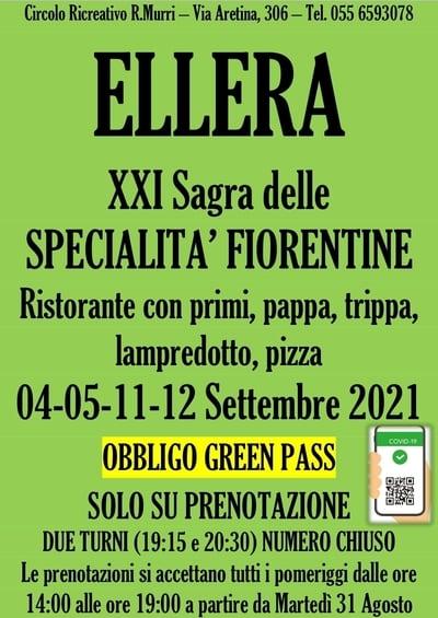 Sagra delle Specialità Fiorentine Ellera 2021