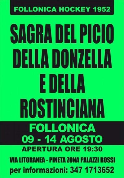 Sagra Picio Donzella Follonica