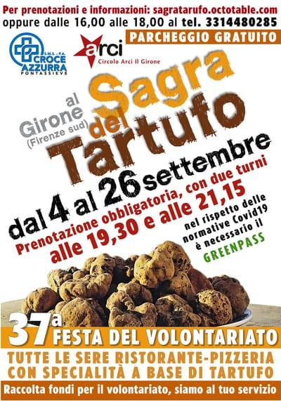 Sagra Tartufo Girone 2021
