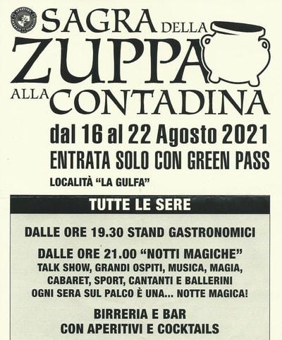 Sagra Zuppa Contadina Massarosa 2021