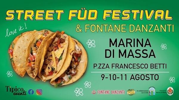 Street Fud Festival Marina di Massa 2021