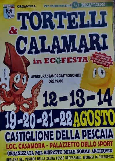Tortelli Calamari Casamora