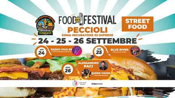 Food Festival a Peccioli Pisa 24-25-26 Settembre 2021