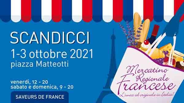 Mercatino Regionale Francese a Scandicci 2021