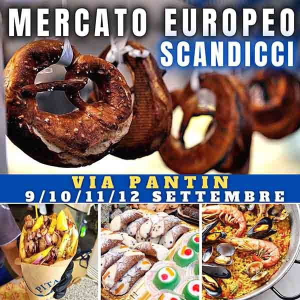 Mercato Europeo a Scandicci 2021 - Via Pantin Scandicci
