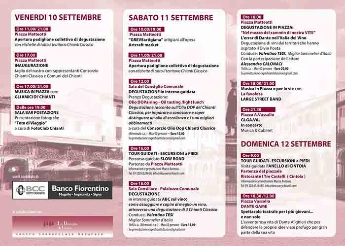 Programma Expo del Chianti Classico 2021 a Greve in Chianti - Pag 1