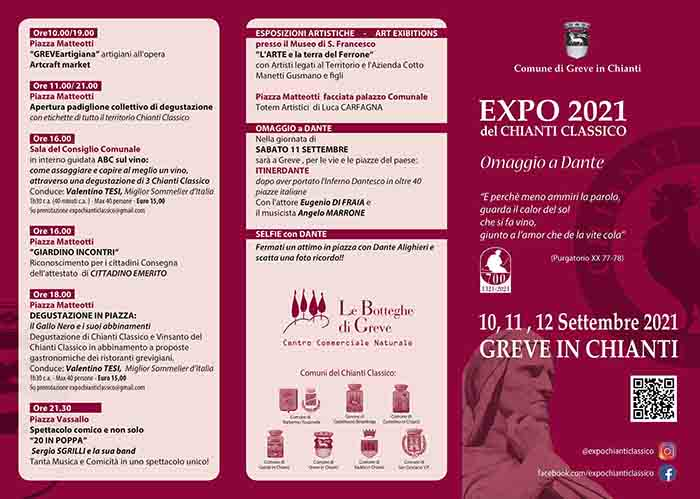Programma Expo del Chianti Classico 2021 a Greve in Chianti - Pag 2