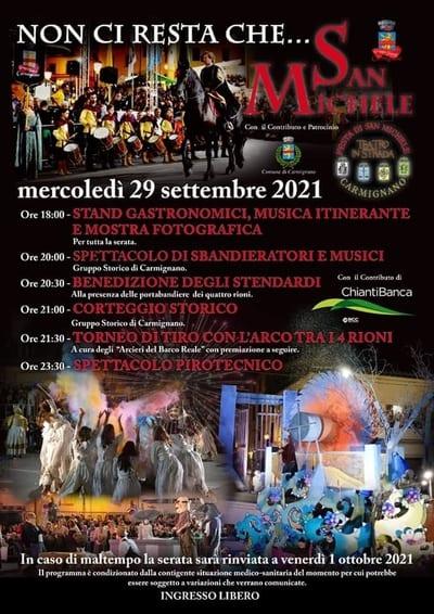 Festa di San Michele Carmignano 2021