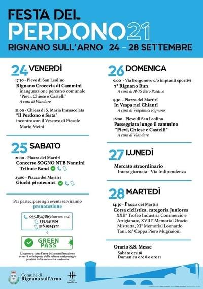 Festa Perdono Rignano sull'Arno 2021
