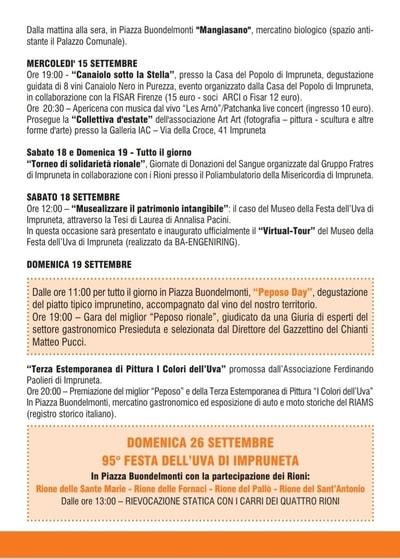 Feste Uva Toscana 2021