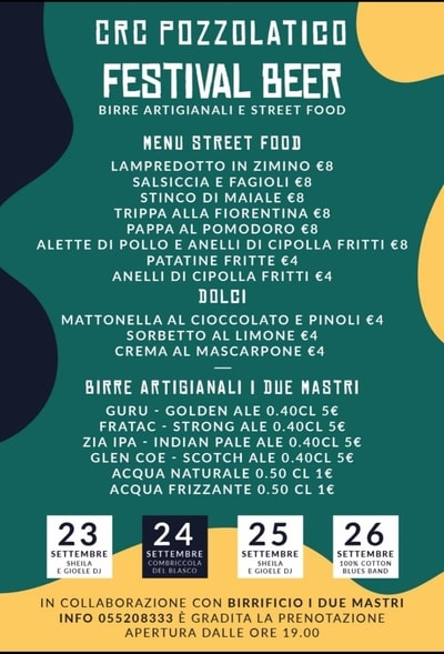 Festival Beer Pozzolatico