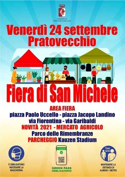 Fiera di San Michele Pratovecchio Stia 2021