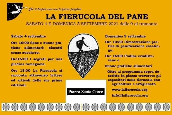 Fierucola del Pane Firenze 2021