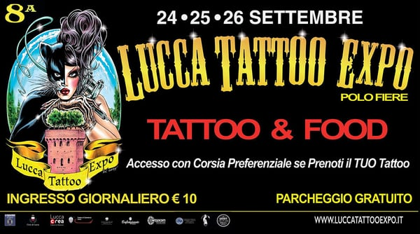Lucca Tattoo Expo 2021