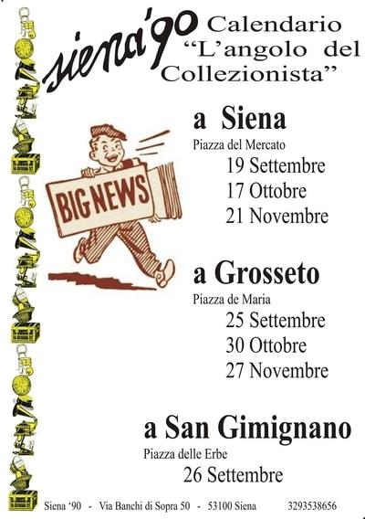 Mercatini per collezionisti Toscana