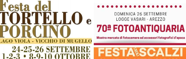 Mercatini Toscana Domenica 26 Settembre 2021