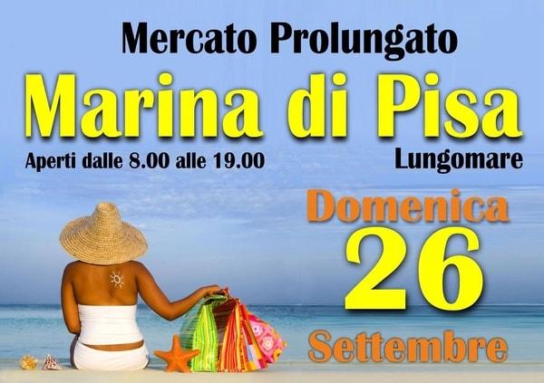 Mercato Marina di Pisa Settembre 2021