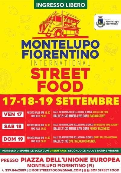 Montelupo Fiorentino Street Food 2021
