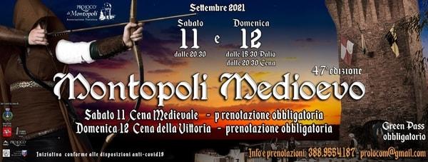 Montopoli Medioevo 2021