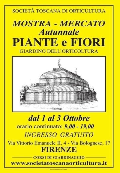 Mostra Piante Fiori Firenze Autunno 2021