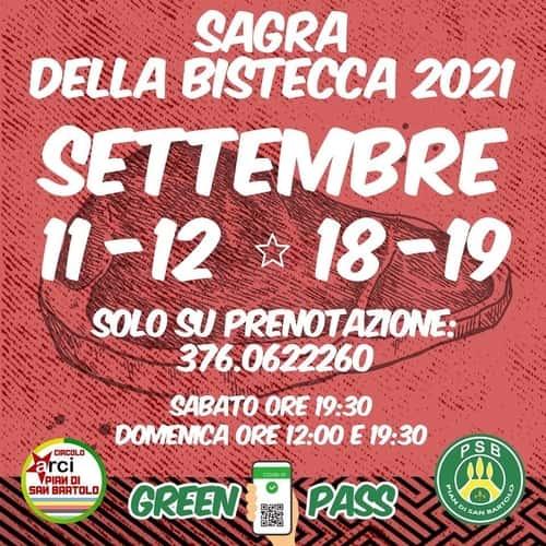 Sagra Bistecca San Bartolo 2021