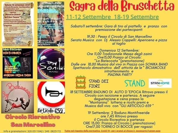Sagra Bruschetta Monti in Chianti 2021