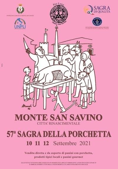 Sagra della Porchetta Monte San Savino 2021
