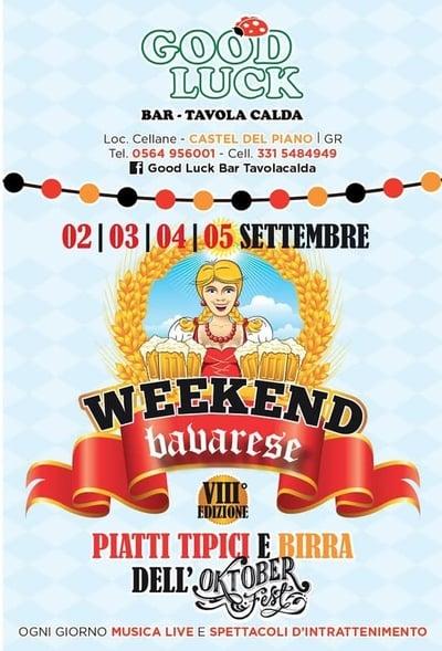 Weekend Bavarese Castel del Piano 2021