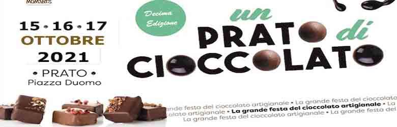Un Prato di Cioccolato 2021 15-16 e 17 ottobre Città di Prato