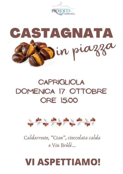 Castagnata Caprigliola 2021