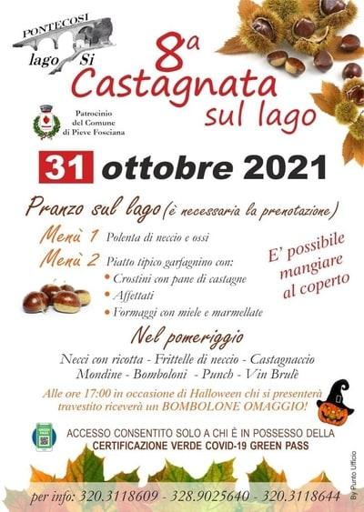 Castagnata Lago di Pontecosi 2021