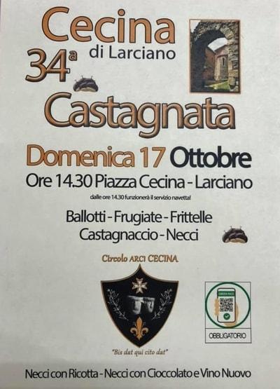 Castagnata Larciano 2021