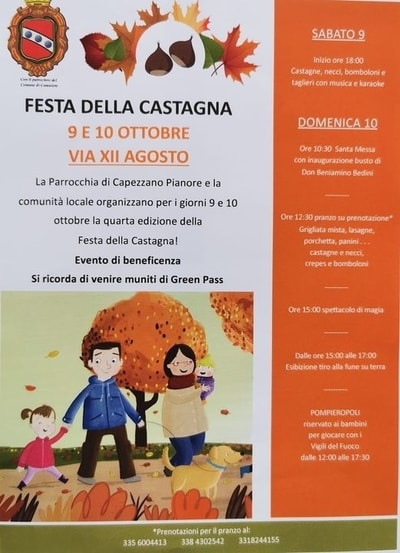 Festa Castagne Capezzano Pianore 2021
