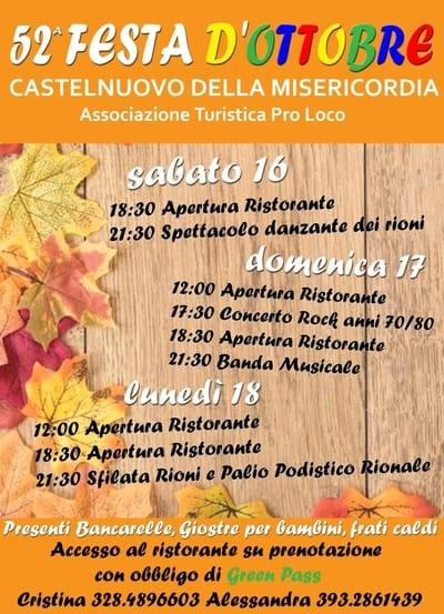 Festa Castelnuovo della Misericordia 2021