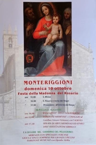 Festa Madonna Rosario Monteriggioni 2021