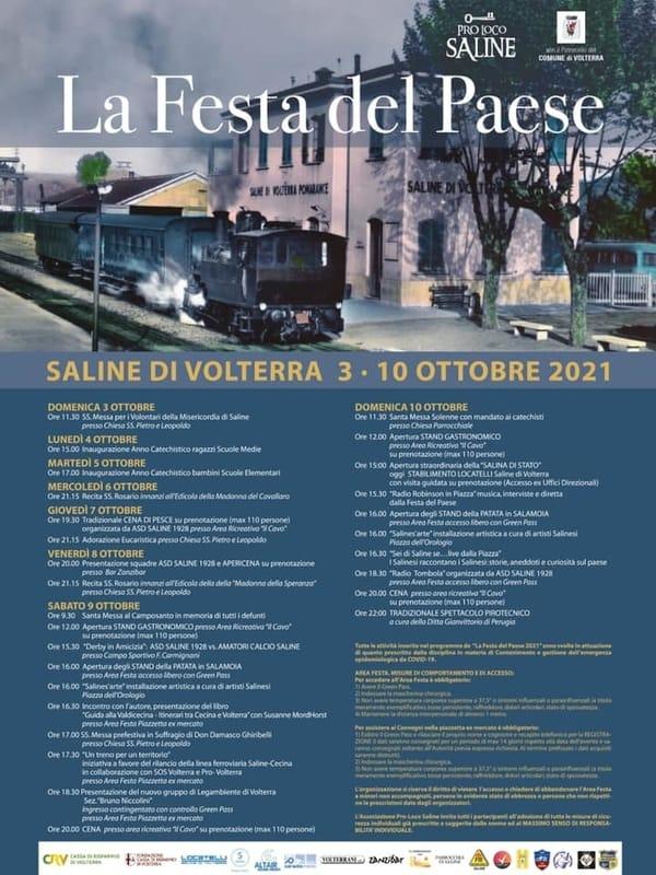 Festa Saline Volterra 2021