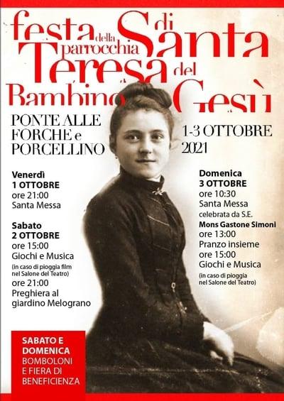 Festa Santa Teresa San Giovanni 2021