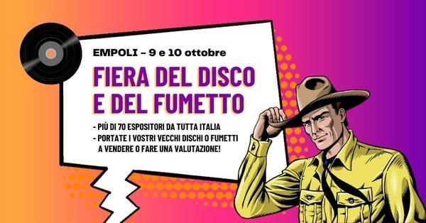 Fiera Disco Fumetti Empoli 2021