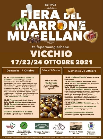 Fiera Marroni Vicchio 2021