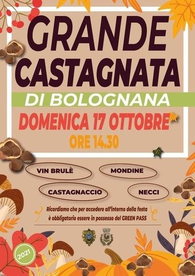 Grande Castagnata 2021 Bolognana
