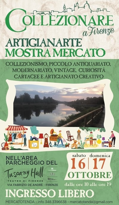 Mercatino Artigianarte Firenze Ottobre 2021