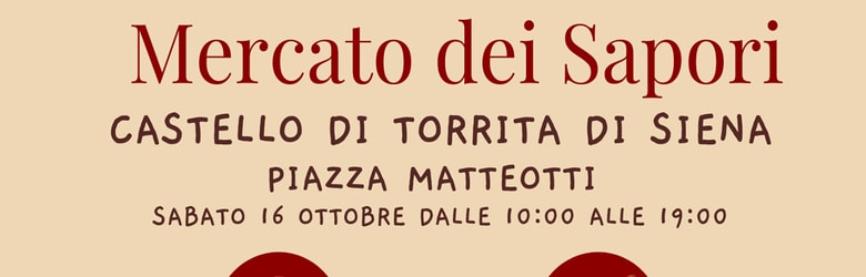 Mercatino Castello Torrita di Siena