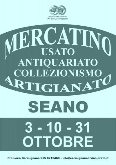 Mercatino di Seano Ottobre 2021