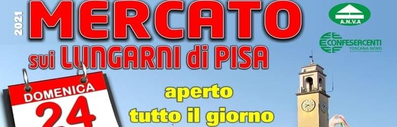 Mercatino Lungarni di Pisa