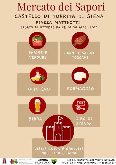 Mercato Sapori Torrita di Siena