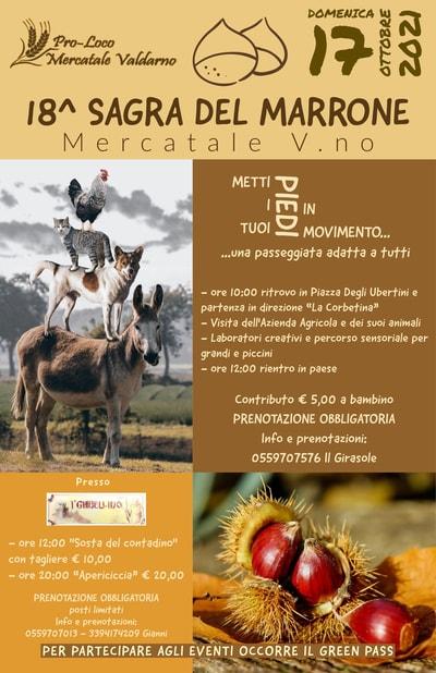 Sagra Marrone Mercatale 2021