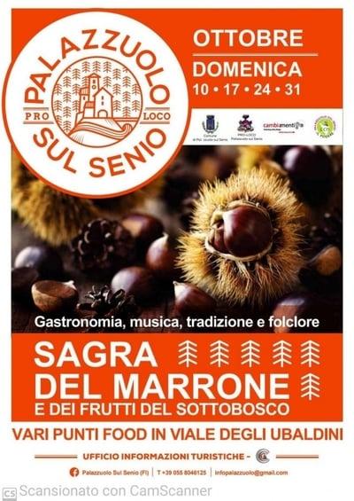 Sagra Marrone Palazzuolo 2021