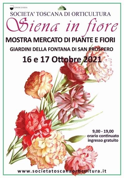 Siena in Fiore Ottobre 2021